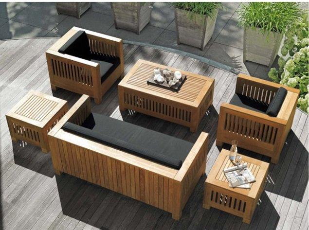 Садовая мебель деревянная своими руками