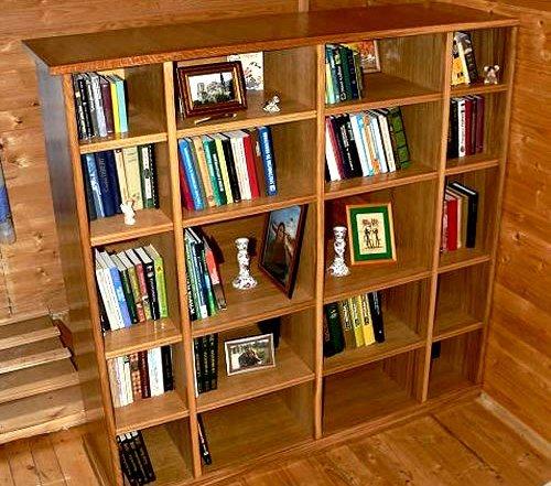 """Как сделать книжный шкаф своими руками строительный портал"""" ."""