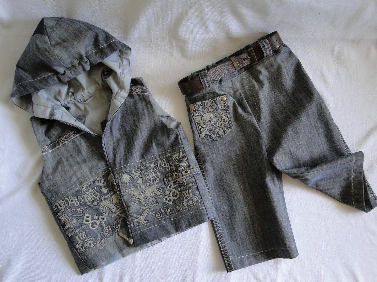 Сшить джинсовую жилетку для девочки из старых джинс фото 268