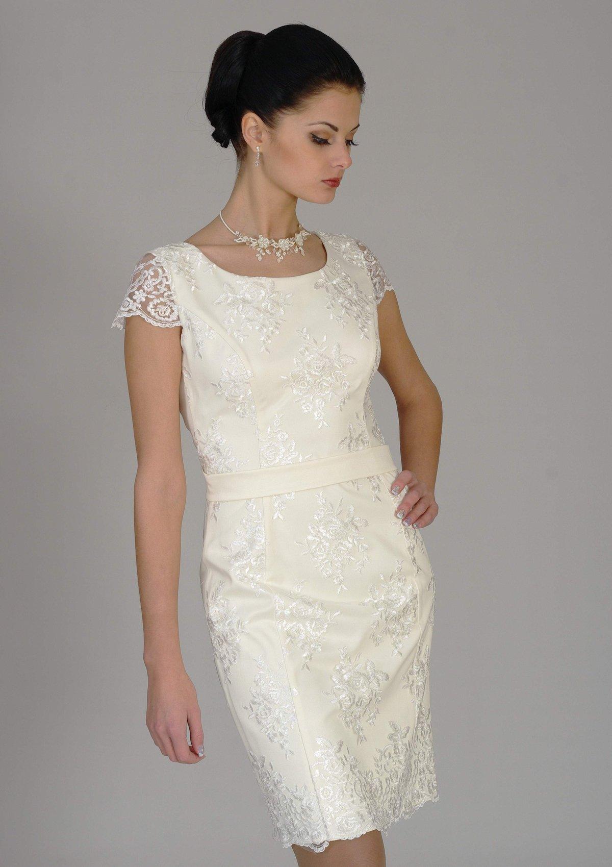 свадебные платья скромные для второго брака фото