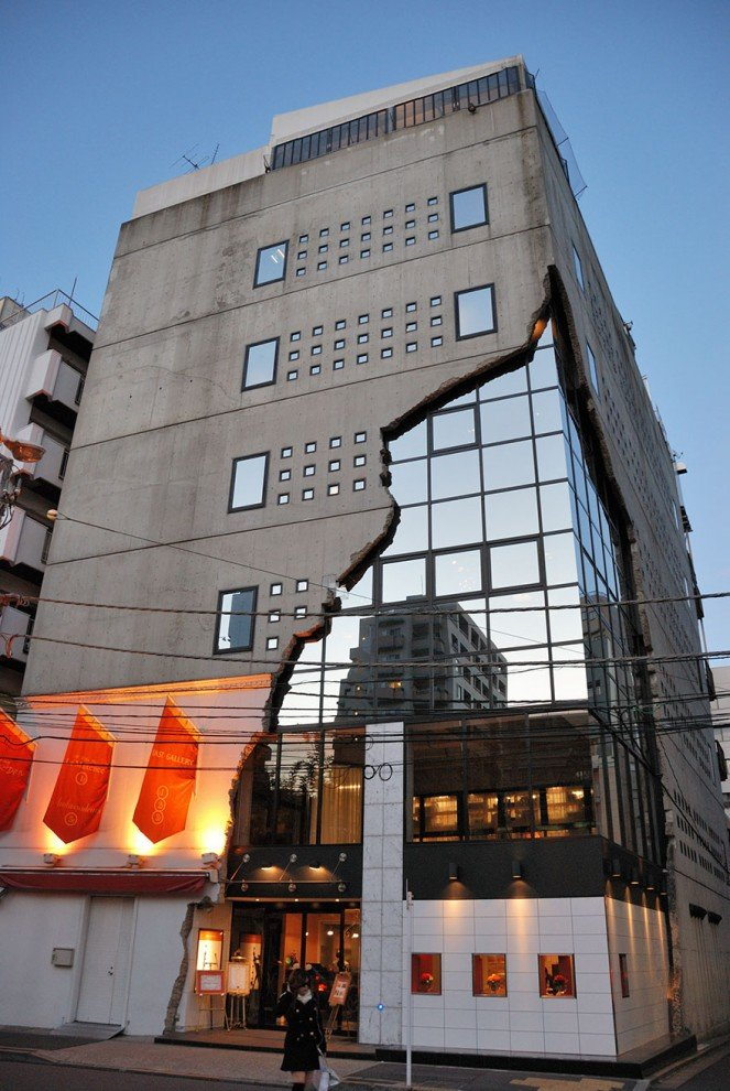 Ebisu East Gallery в районе Сибуя в Токио.