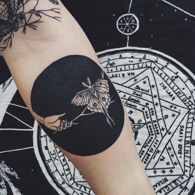 черно белые татуировки фото