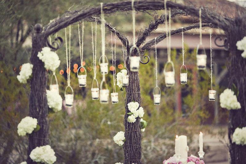 Декор для камерной свадьбы  в стиле винтаж