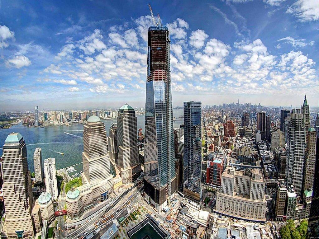 Всемирный торговый центр 1 или Башня Свободы (Нью-Йорк, США ... da69957101c