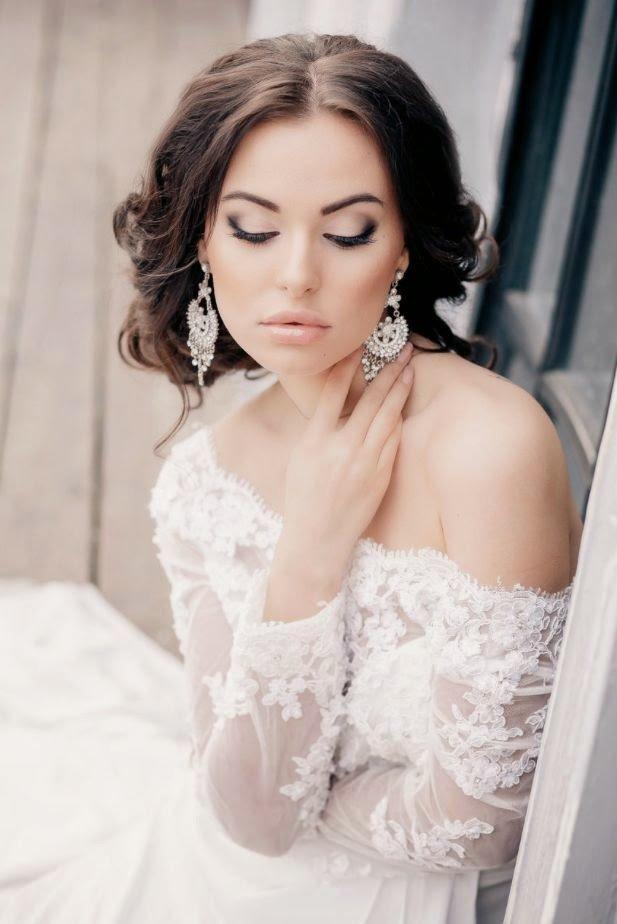 Нежный макияж невесты