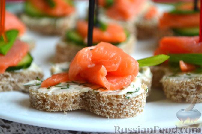 Блюда из рыбы на праздничный стол рецепты с фото