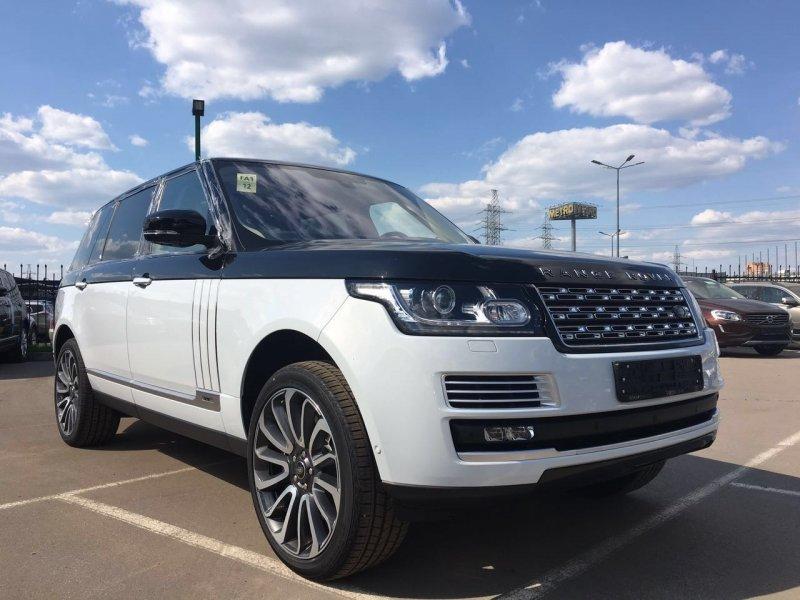 «Land Rover Range Rover S V Autobiography» — карточка ...