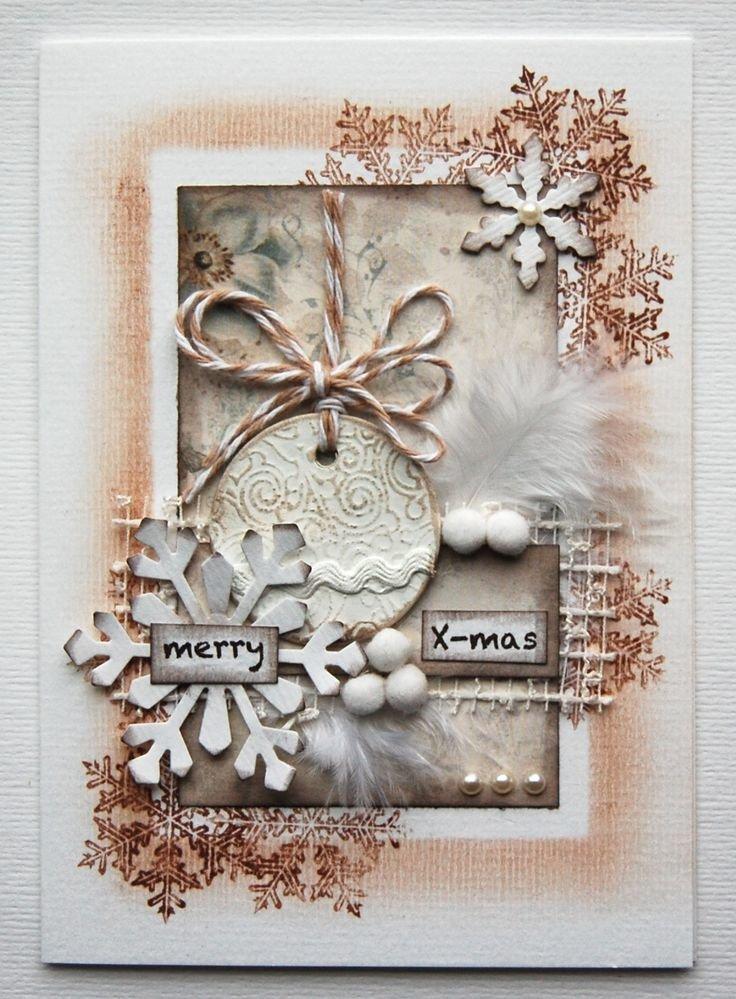 открытки своими руками на рождество скрапбукинг личный прогресс будет