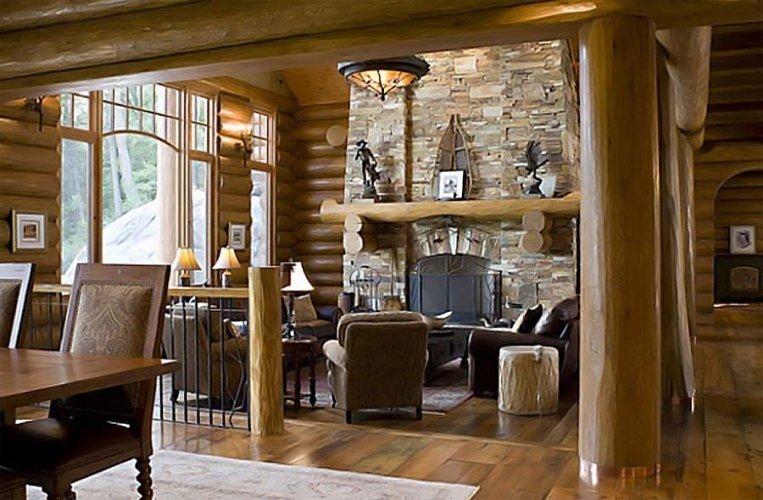 Гостиная в стиле кантри. 50 дизайнерских вариантов - Сундук идей для вашего дома - интерьеры, дома, дизайнерские вещи для дома