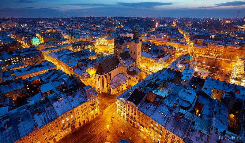 Рождественские каникулы в самом европейском городе Украины. Что посмотреть в канун Нового года во Львове? Рождественская ярмарка, как визитная карточка города.