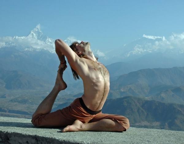 Йога - занятие для сильных духом мужчин