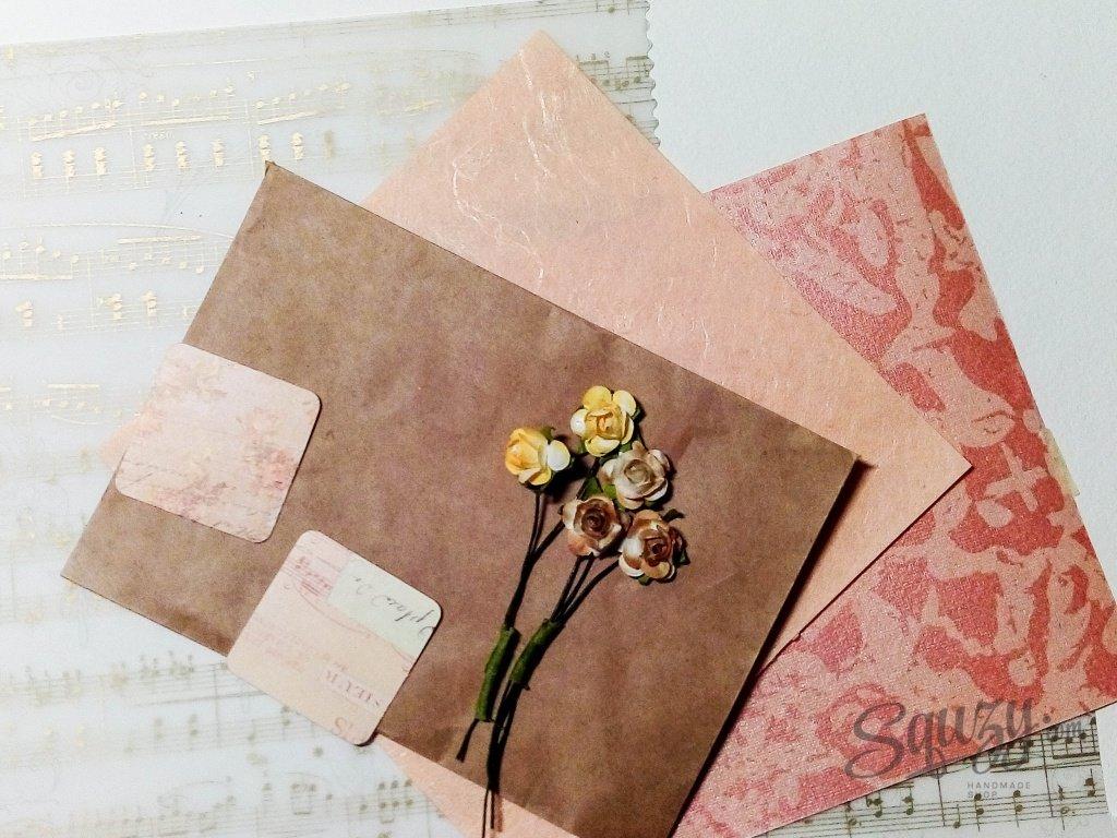 Оригинальная конверт для открытки, прикольные буквы