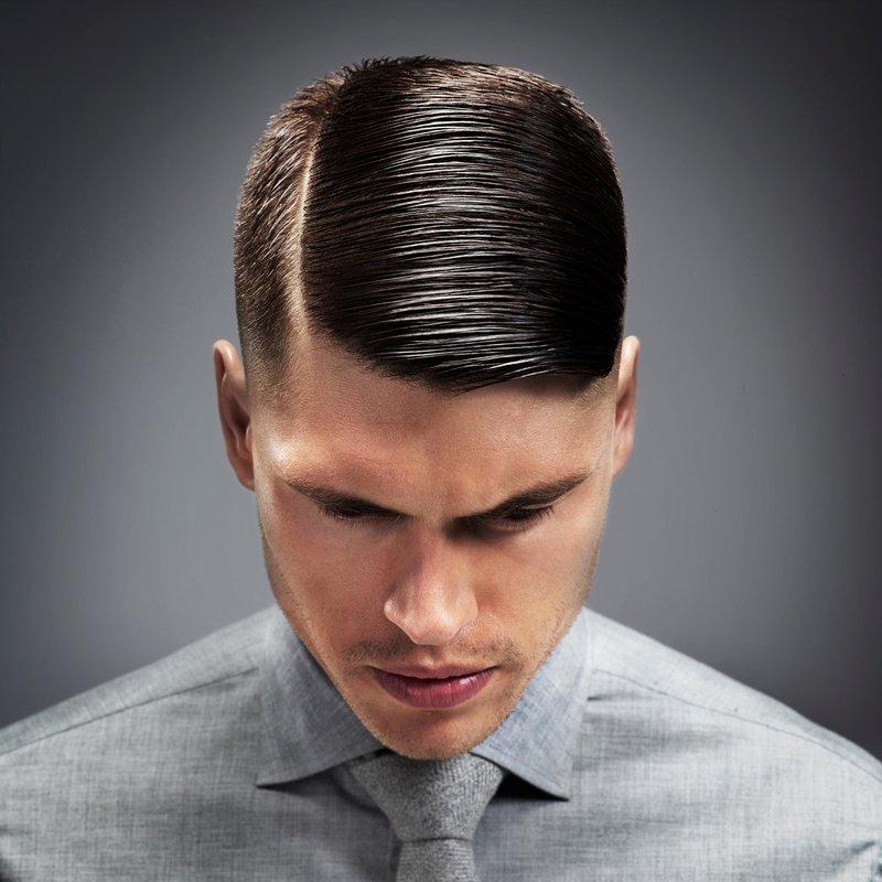 Гангстерская причёска