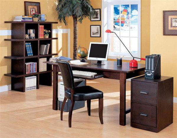 Дизайн домашнего кабинета минималистический