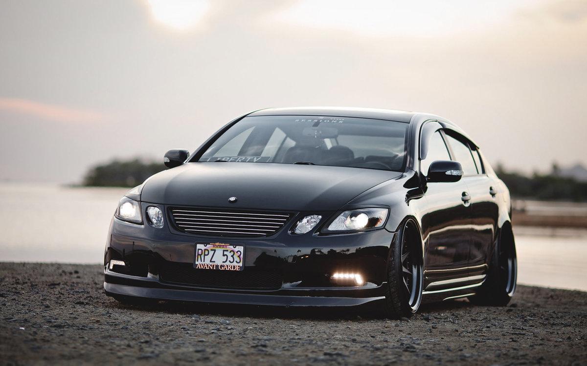 Lexus gs 350 вид спереди