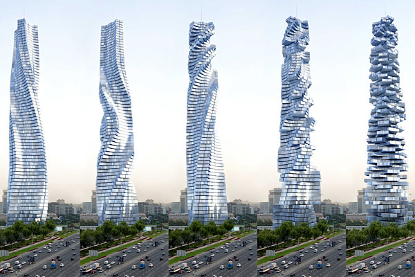 Dynamic Tower- Динамичная Башня в Дубае (ОАЭ) (Интернет-ж...