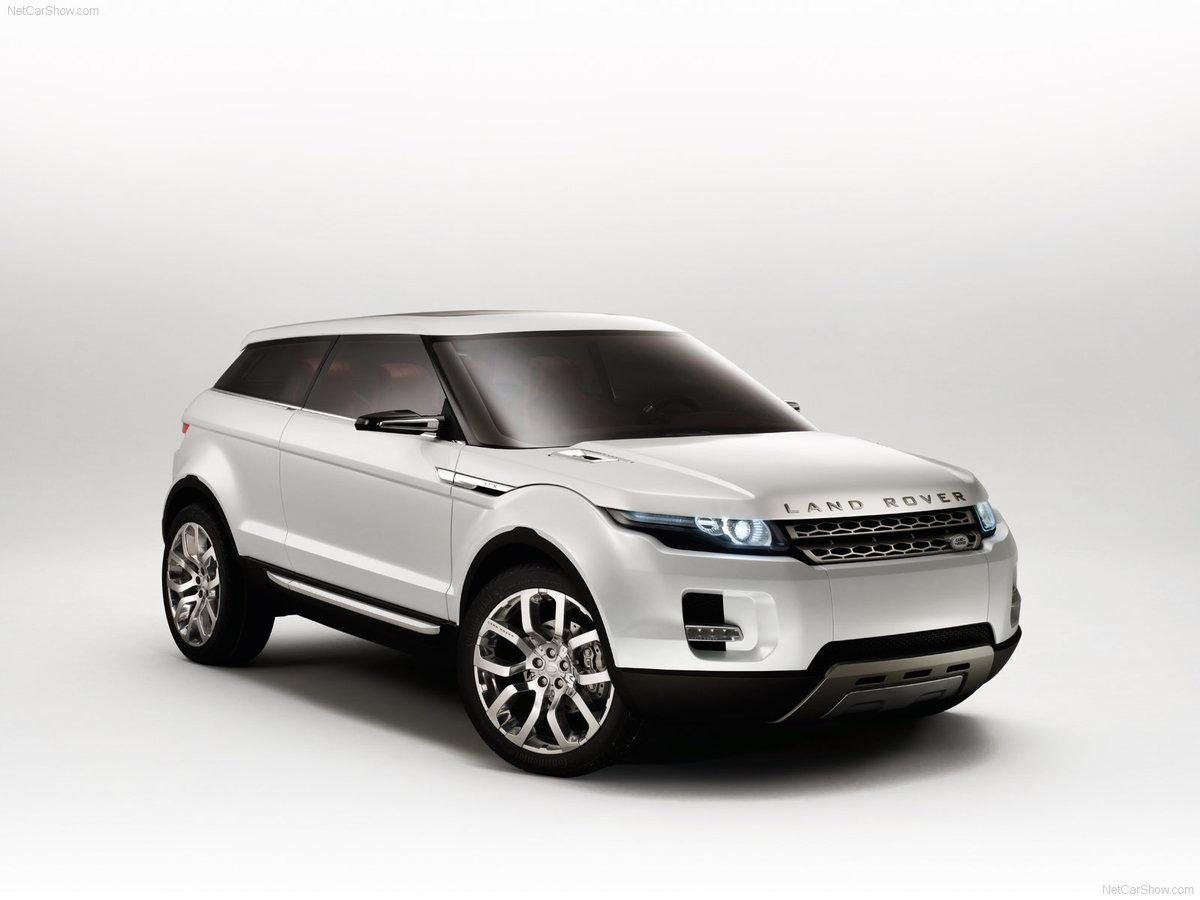 land rover концепт кар