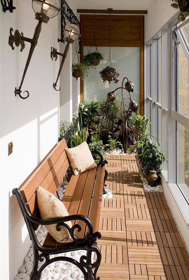 """Как обустроить обычный балкон или лоджию? """" - карточка польз."""