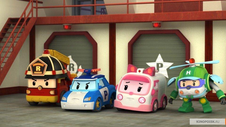 Спасатели робокар картинки