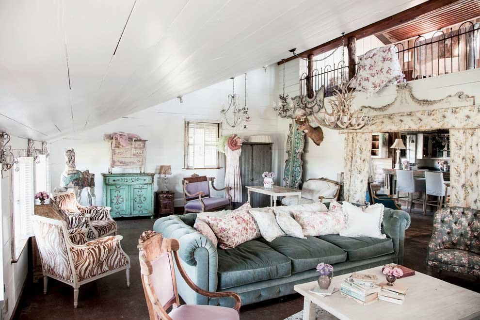 Квартира в стиле шебби шик фото