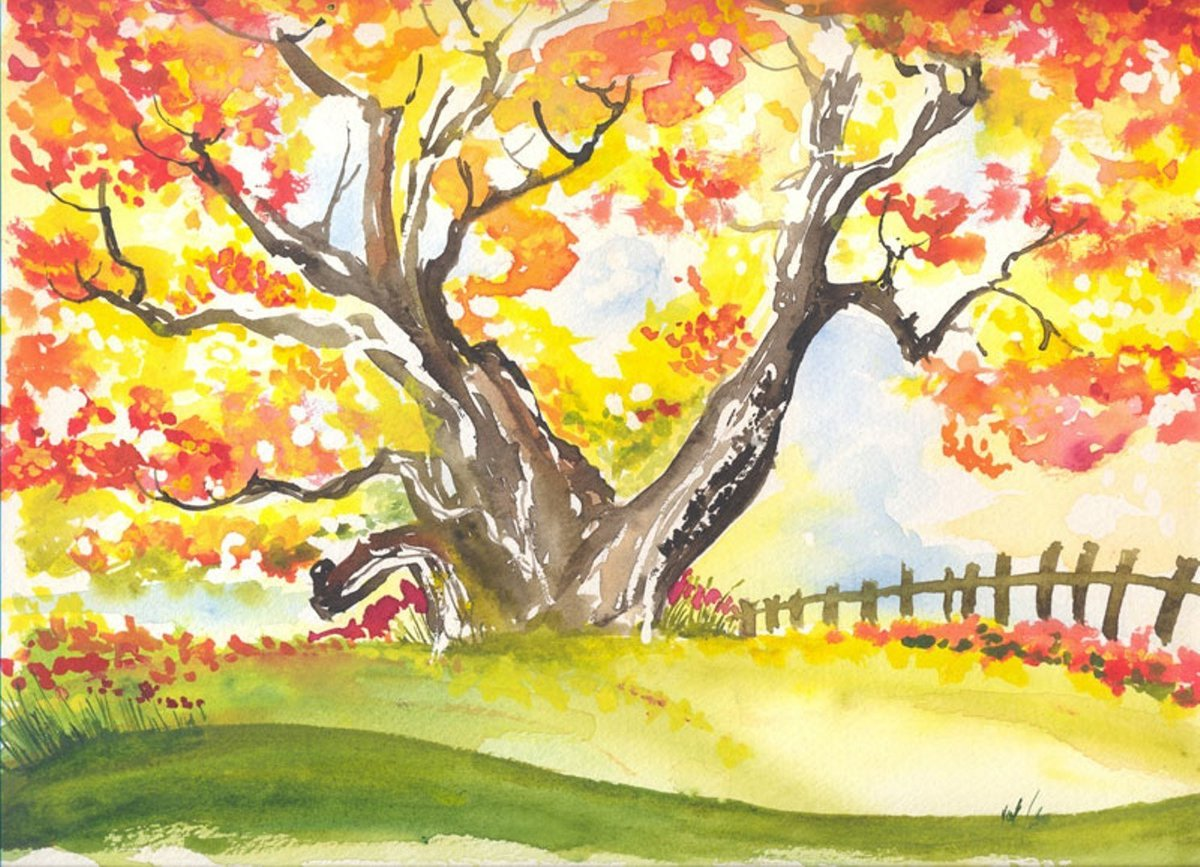 Картинка поздравление, картинки осень рисовать в школу