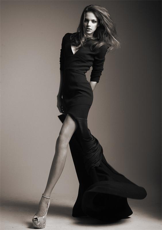 черно-белое фото длинноногие девушки