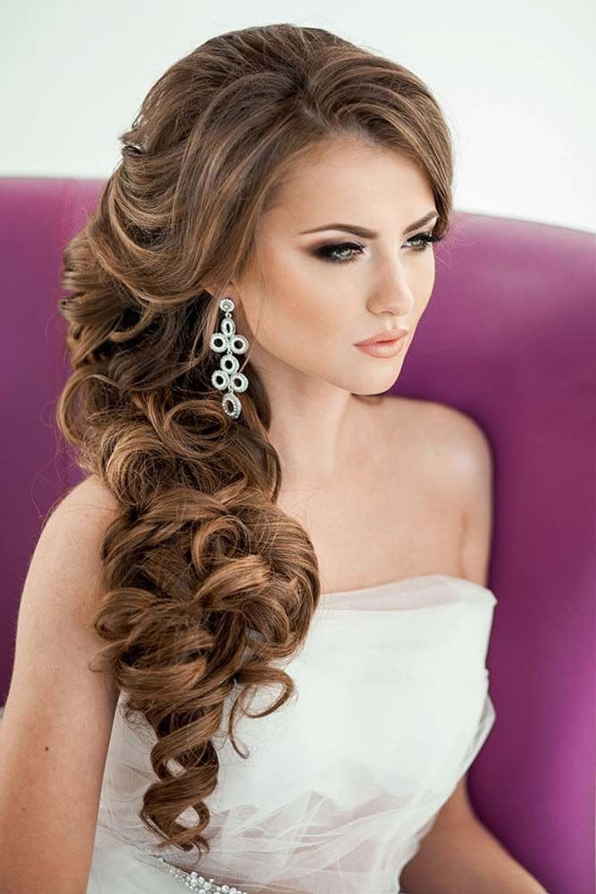We vow to love wedding hairstyles for long hair! Check out this collection of 64 Wonderful Wedding Hairstyles For Long Hair.
