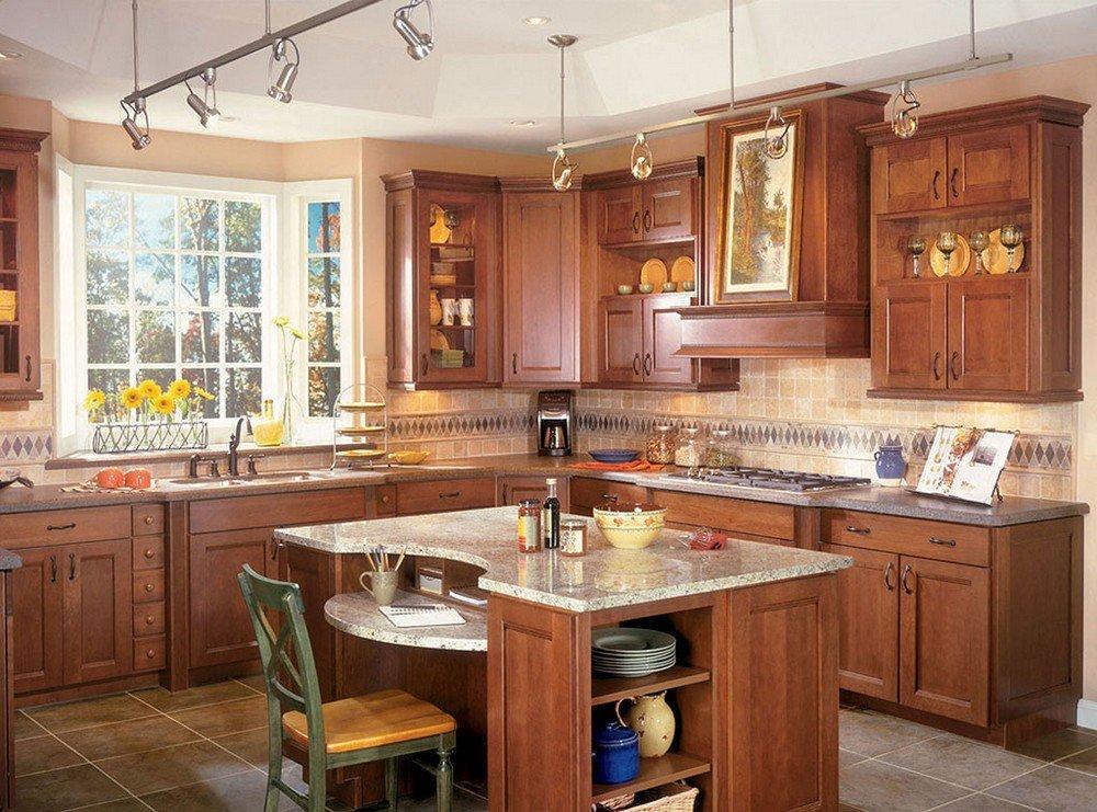 угловые кухни в частном доме фото имя