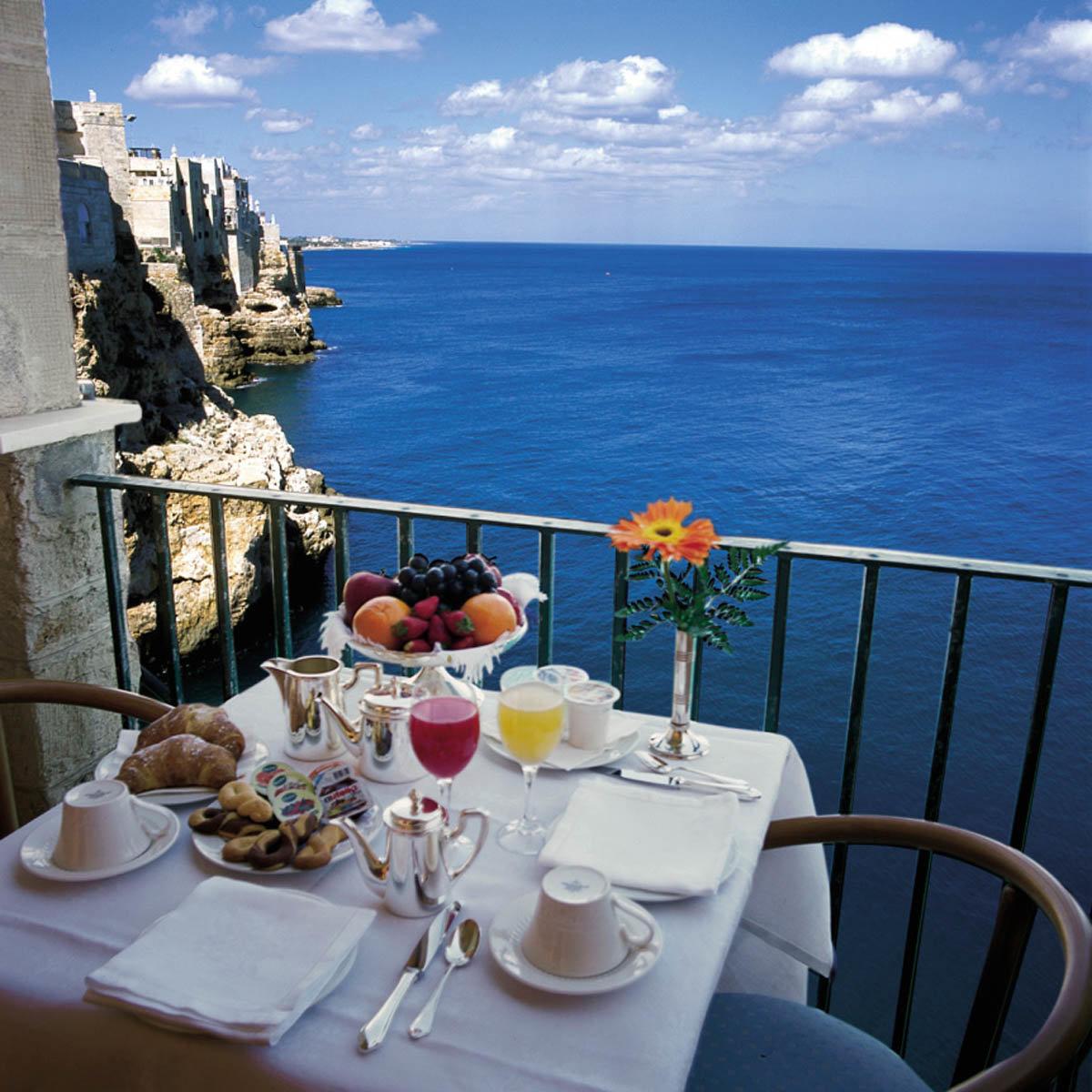 Доброе утро картинки с видом на море