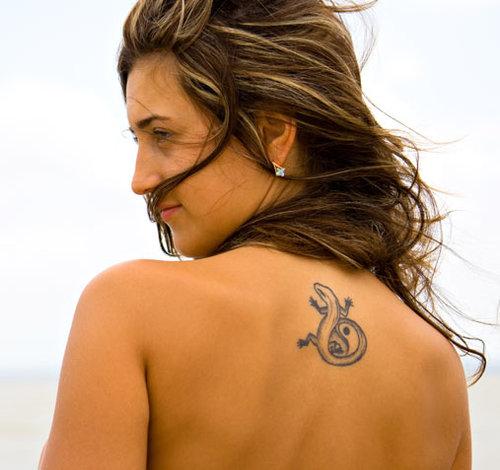 Татуировки с рептилиями и земноводными