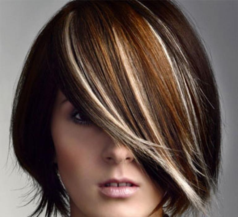 тонирование волос фото на темные короткие волосы уже