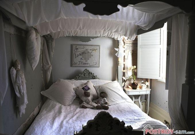 Уютная маленькая спальня