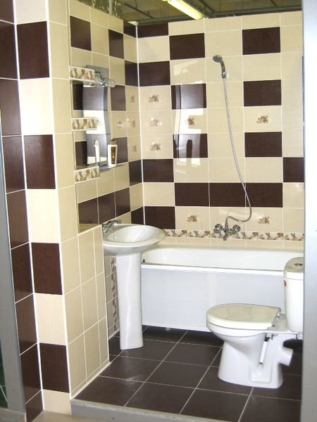 ванная комната совмещённая с туалетом дизайн фото 3 кв м