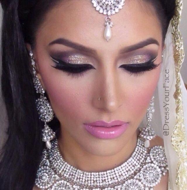 Свадебный арабский макияж фото