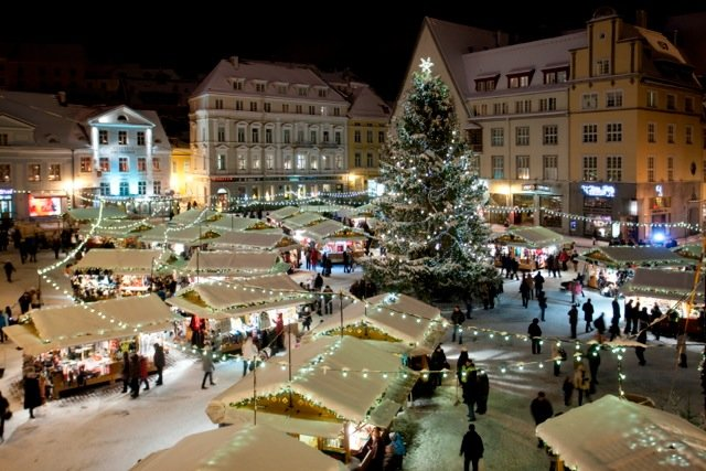 Таллинская рождественская ярмарка