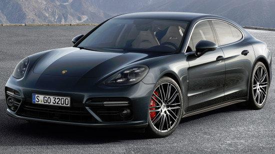Перечень технических характеристик Порше Панамера Турбо (2016-2017), оснащение и стоимость в России. Обзор 2-го поколения Porsche Panamera Turbo с фотографиями.