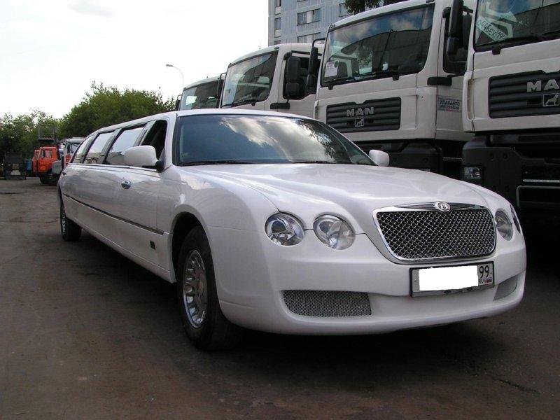 Лимузин в стиле Bentley