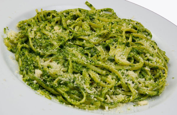 шпинат со спагетти со сливками рецепты-хв8