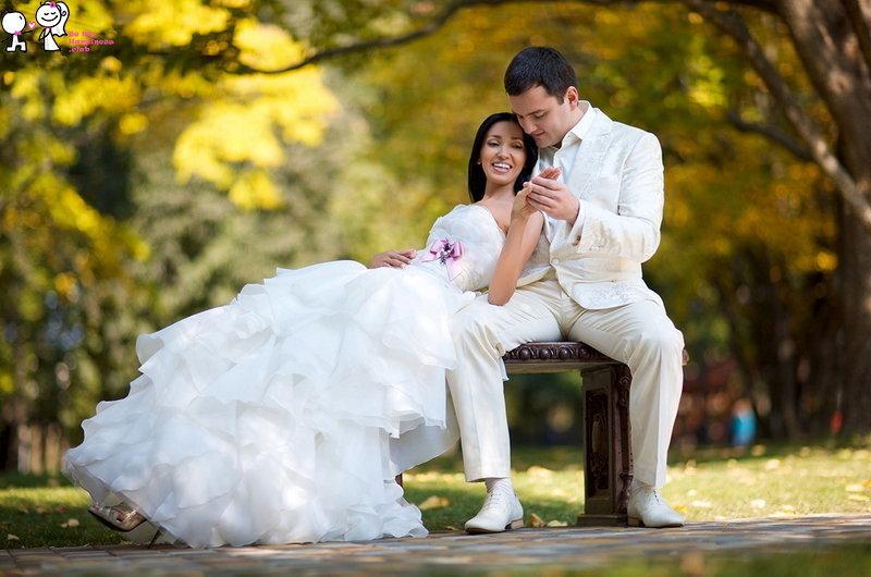 Свадьба на природе орел