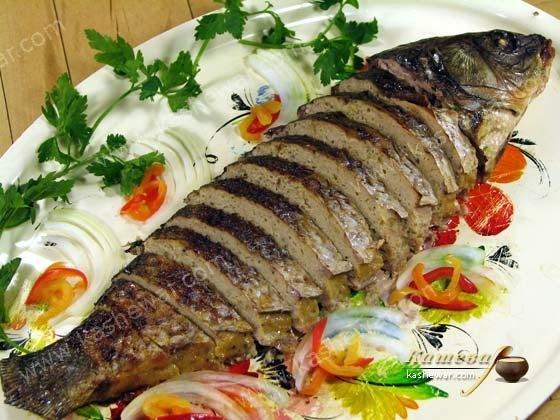 Фаршированная рыба рецепт с фото пошагово
