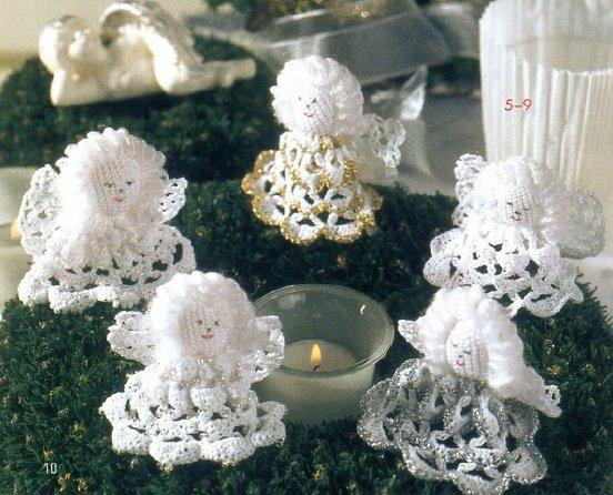Ангелочки рождественские своими руками
