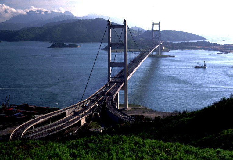 Мост в Гонгконге