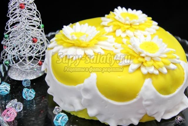 Торты с сахарной мастики фото