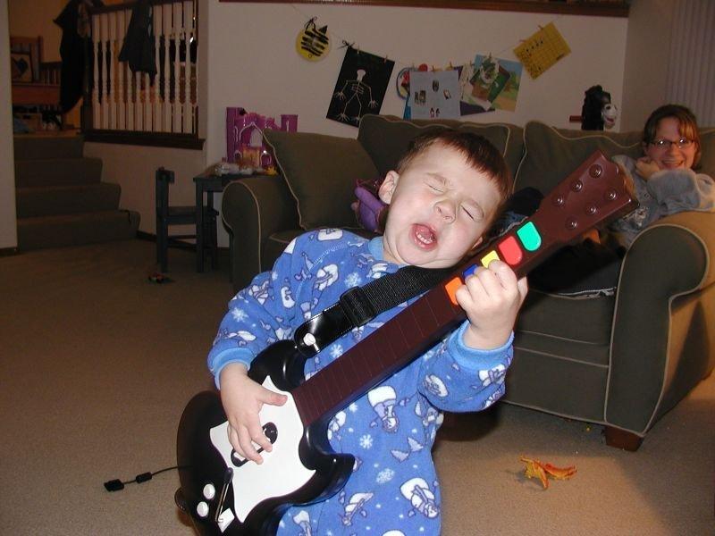Смешной гитарист картинка