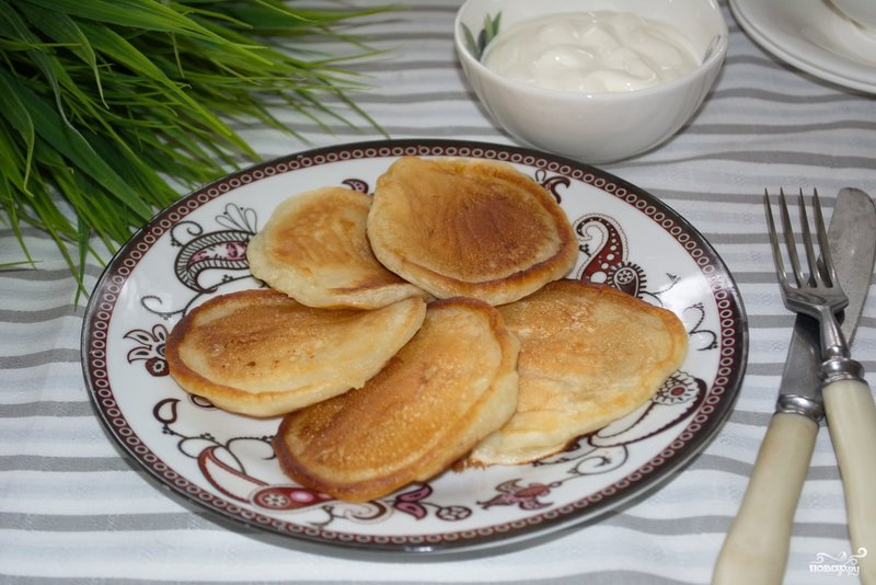 рецепт вкусных оладьев с фото