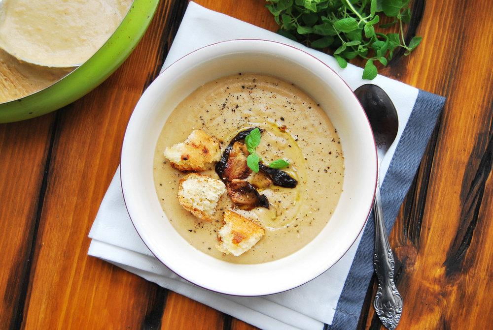 что грибной крем суп рецепт с фото солнечного