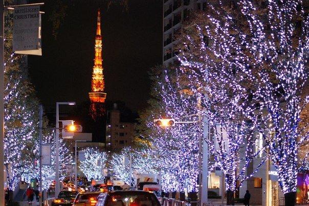 фото новый год токио