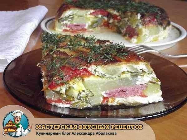 Запеканка кабачки в мультиварке рецепты с фото