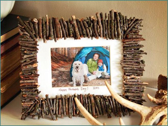 Поделки для дома из дерева и веток 7