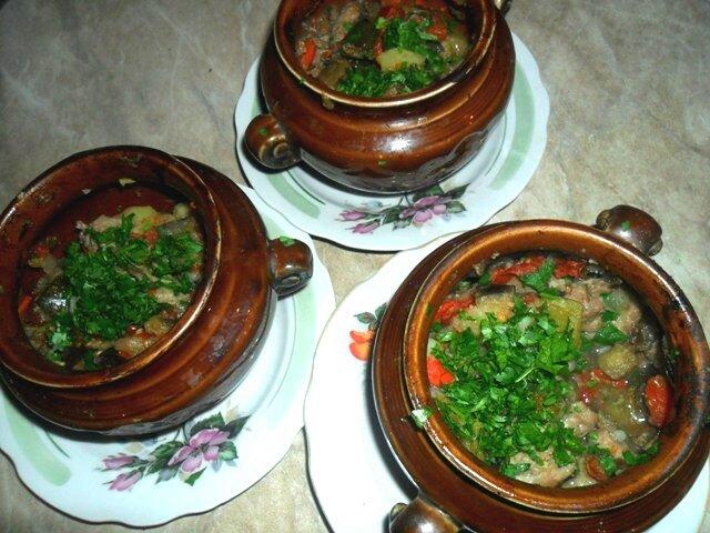 чанахи в горшочках рецепт с фото пошагово